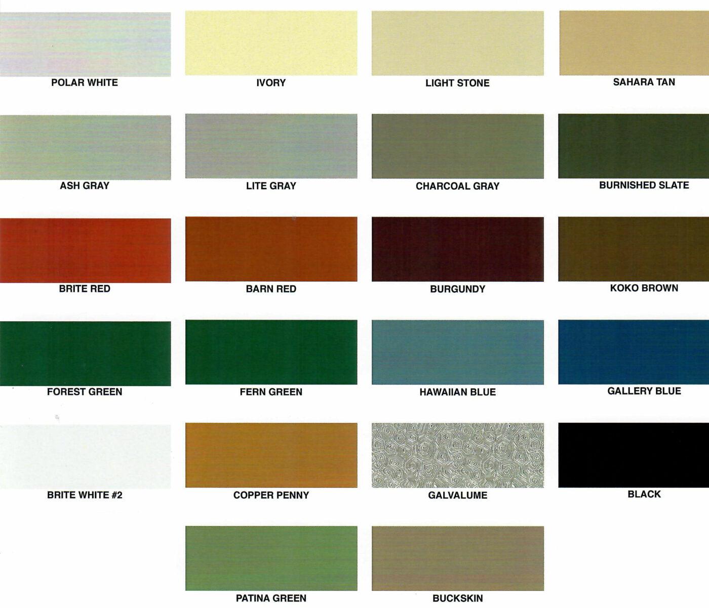 metal colors 1